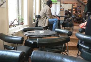 Karabit Cafe in Sarajevo
