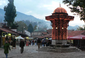 Turkish Quarter of Sarajevo